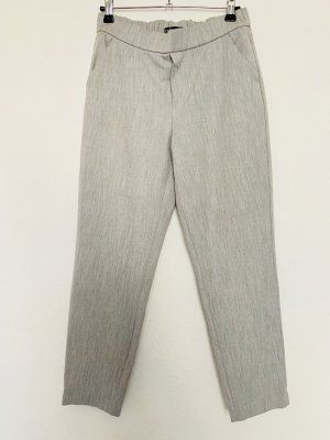 Zara Pantalon chinos gris clair