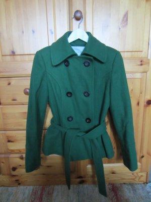 Zara grüne Jacke Wolle Gr.M TOP!!