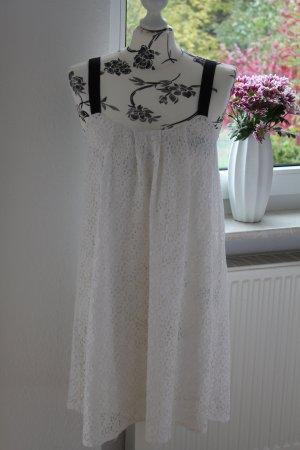 Zara Robe noir-blanc