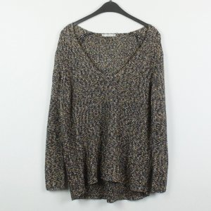 Zara Pullover all'uncinetto multicolore