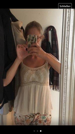 Zara häkeltop handmade