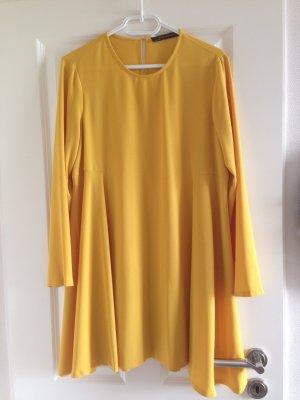 Zara Hängerchen Kleid Gr. L Gelb