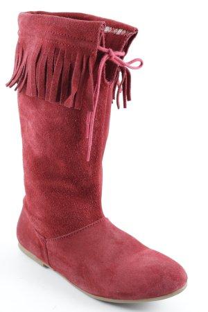 Zara Cothurne rouge style Boho