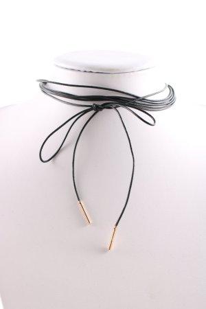 Zara Halskette schwarz Casual-Look