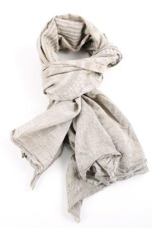 Zara Fazzoletto da collo grigio chiaro puntinato stile casual
