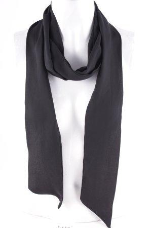 Zara Halstuch schwarz klassischer Stil