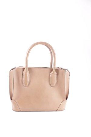 Zara Handtasche hellbraun minimalistischer Stil
