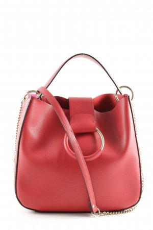 Zara Handtasche rot Business-Look