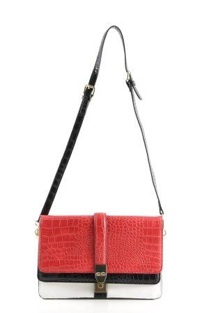 Zara Handtasche mehrfarbig Street-Fashion-Look