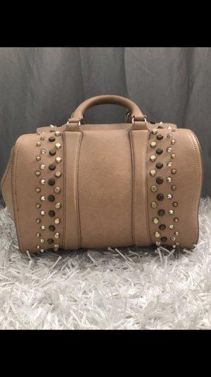 ZARA Handtasche mit Nieten