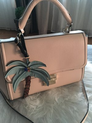 Zara Crossbody bag pink-gold-colored