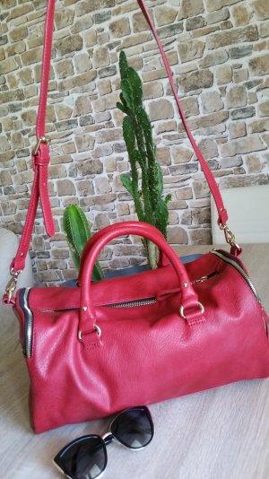 zara Handtasche neuwertig rot