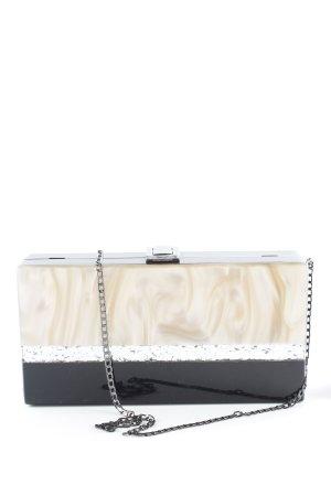 Zara Handbag black-cream party style