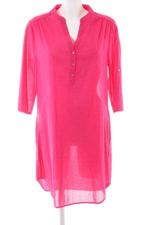 Zara House-Frock pink casual look