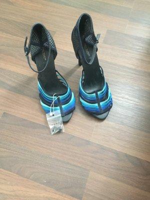 Zara High Heel Sandal multicolored