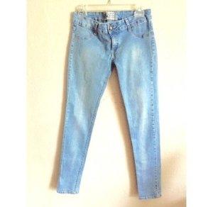 Zara helle Skinny Jeans