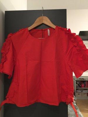 Zara Chemise rouge
