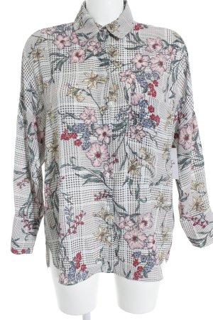 Zara Blouse-chemisier motif de fleur style extravagant