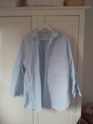 Zara Hemd Bluse Business blau