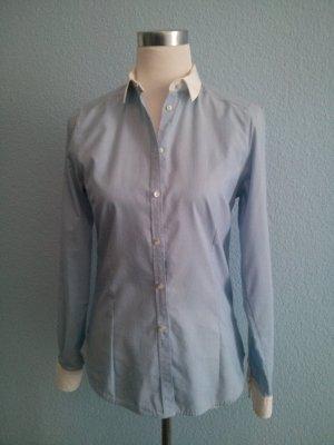 Zara Hemd Bluse Oxford Shirt Business Büro Preppy Look