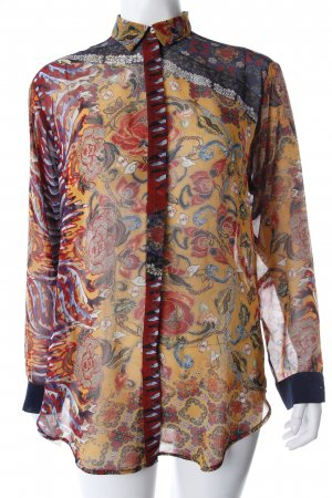 Zara Hemd-Bluse transparentes Material