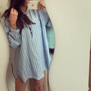 Zara Robe chemise multicolore