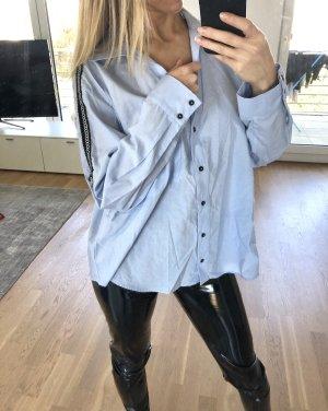 Zara Hemd Gr. M 38 Hellblau Bluse