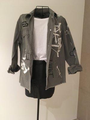 Zara Hemd Gr.XS-S. khaki