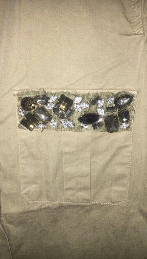 Zara Lange blouse khaki
