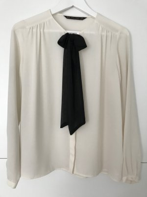 Zara Camicia blusa bianco sporco
