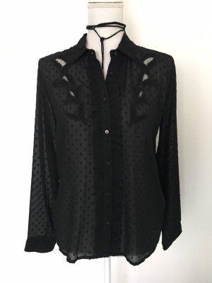 Zara Chemise à manches longues noir
