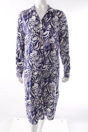 Zara Hemdblusenkleid Blumenmuster
