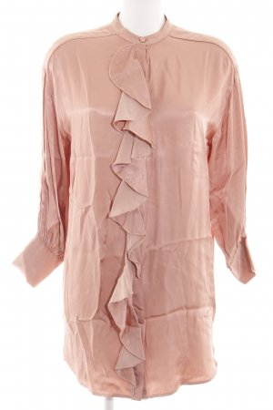 Zara Robe chemise rose chair style d'affaires