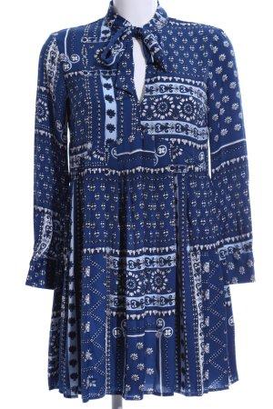 Zara Shirtwaist dress floral pattern casual look