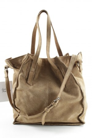 Zara Carry Bag light brown casual look