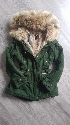 Zara Veste d'hiver multicolore