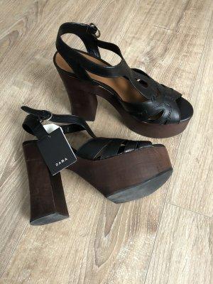 ZARA High Heel Platform Sandals