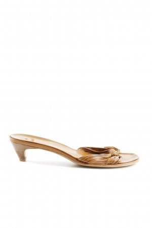 Zara High Heel Sandaletten braun Elegant