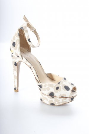 Zara High Heel Sandaletten florales Muster Elegant