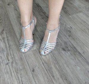 Zara Escarpins argenté