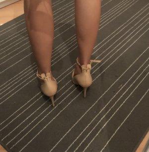 Zara Talons hauts crème-rose chair