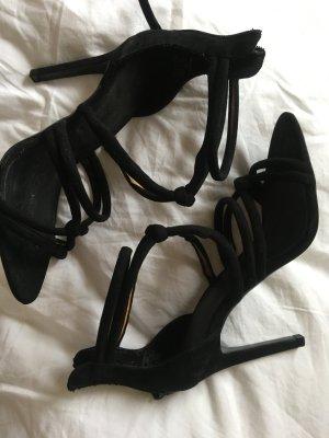 Zara High Heels 39 neu schwarz Hingucker Partyheels
