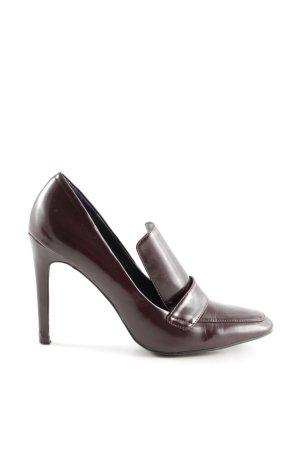 Zara High Heels braun Elegant