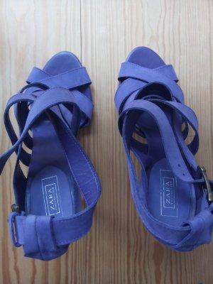 Zara High Heel Sandal lilac