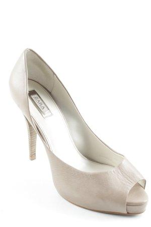 Zara High Heels beige-creme Elegant