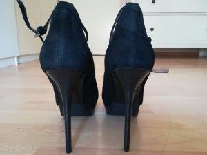 Zara High Heels echtes Leder Gr. 41