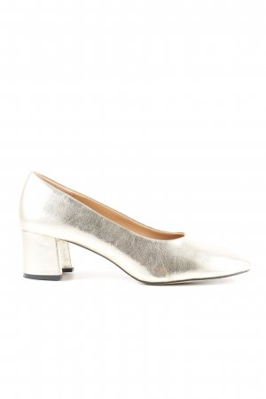 Zara High Heels goldfarben Elegant