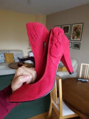 Zara high Heels gr 37 rot