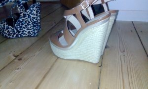 Zara Wedge Sandals multicolored