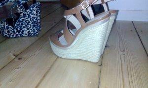 Zara Wedge Sandals multicolored